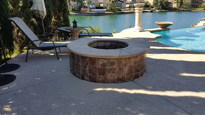 Personal-Touch-Landscape-k-9 - Sugar Land Outdoor Fireplace And Firepit